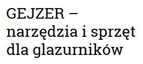 Wypożyczalnia narzędzi Gejzer Szczecin